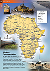 Africa Transportation Map