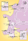 Darwin Fine Dining Locater Map