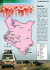 Kenya Tourism Map