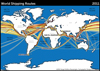 World Shipping Routes