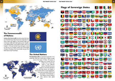 The British Commonwealth UN Flags of the World