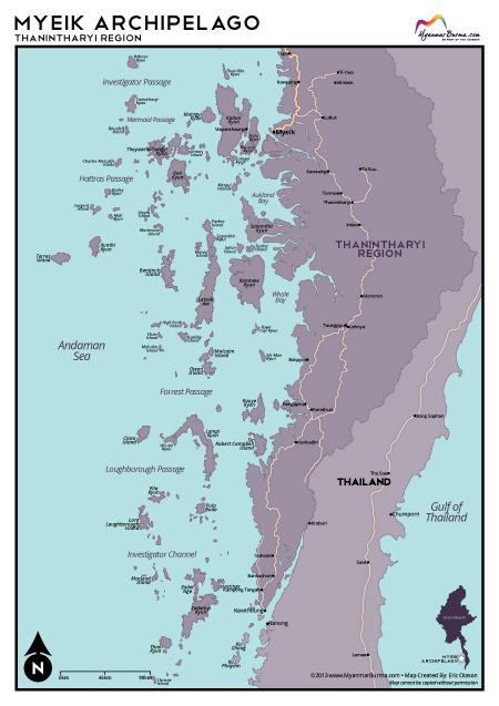Myeik Myanmar  city images : ... Olason :: Cartographic Artist :: Myeik Archipelago, Myanmar, Burma