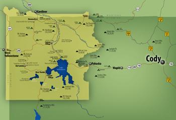 Eric Olason  Cartographic Artist  Cody Wyoming